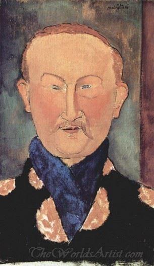Portrait Of Leon Bakst