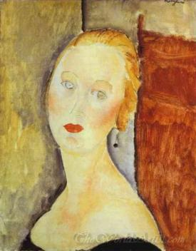 A Blond Woman Portrait Of Germaine Survage