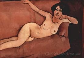 Nude On A Sofa Almaiisa
