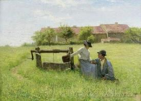 Lovers At The Well