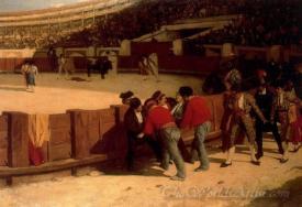 La Cogida Del Torero  (Goring The Bullfighter)