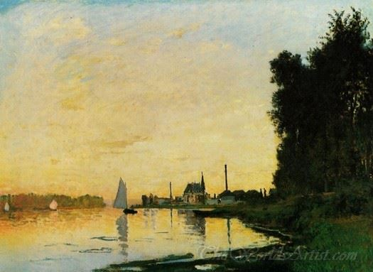 Argenteuil Late Afternoon