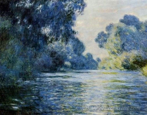 Arm Of The Seine At Giverny