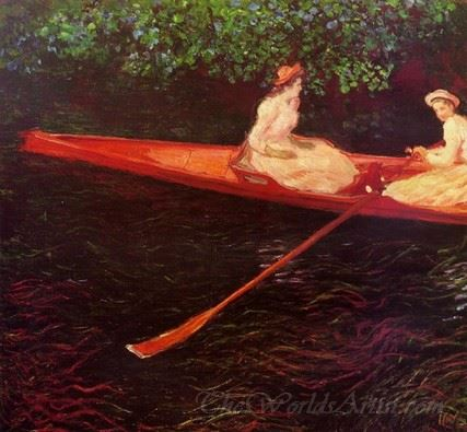 Boating On The River Epte