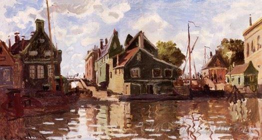 Canal In Zaandam