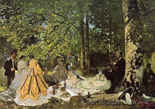 Dejeuner Sur L Herbe  (Luncheon On The Grass)