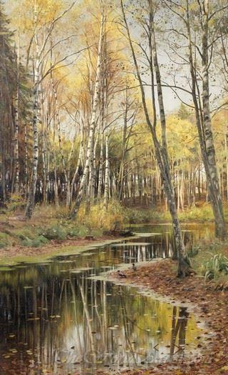 Autumn In The Birchwood