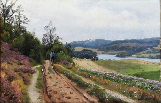 A Trail In Virklund Denmark