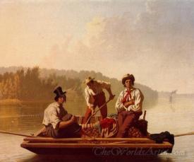 Boatmen On The Missouri