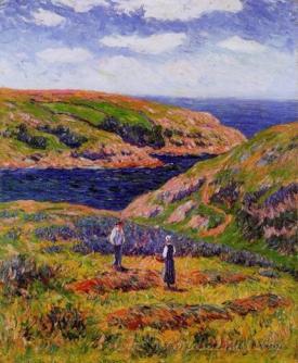 Cliffs At Clohars Caronet