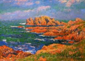 The Red Rocks At Ouessant