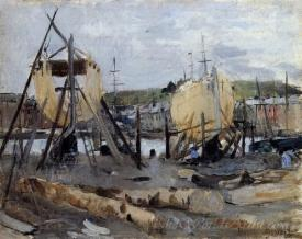 Boats Under Construction