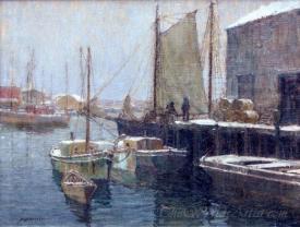 Winter On The Docks