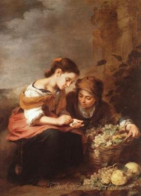 The Little Fruit Seller