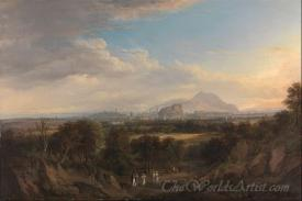 A View Of Edinburgh From The West