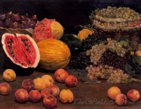 Bodegon De Frutas  (Still Life Of Fruit)