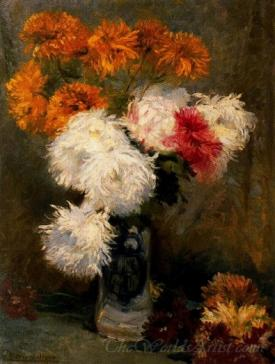 Crisantemos  (Chrysanthemums)