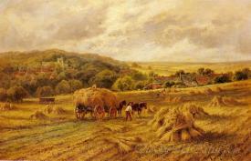 Harvest Time Lambourne Berks