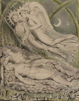 Adam And Eve Sleeping
