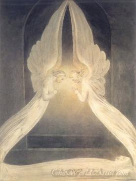 Christ In The Sepulchre Guarded By Angels