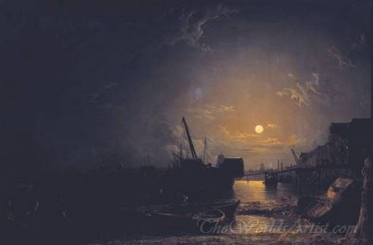 Greenwich Reach Moonlight