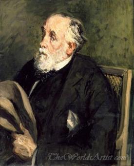 Portrait Of Degas