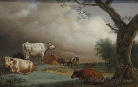 Cattle In A Meadow