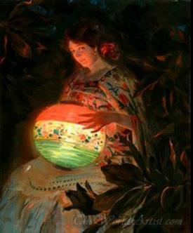 La Nina De La Lampara  (The Girl Of The Lamp)