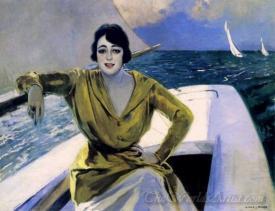 Mujer En La Barca