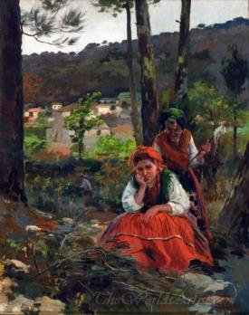 Mujeres En El Campo  (Women In The Field)