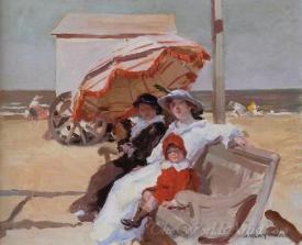 En La Playa On The Beach