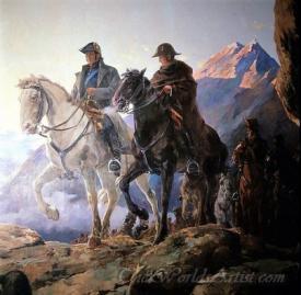 El Paso Del Ejercito Libertador Por La Cordillera De Los Andes  (Liberation Army Over The Andes)