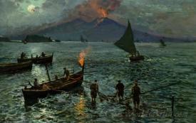 Night Fishing In Naples