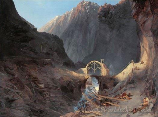 Building The Devils Bridge