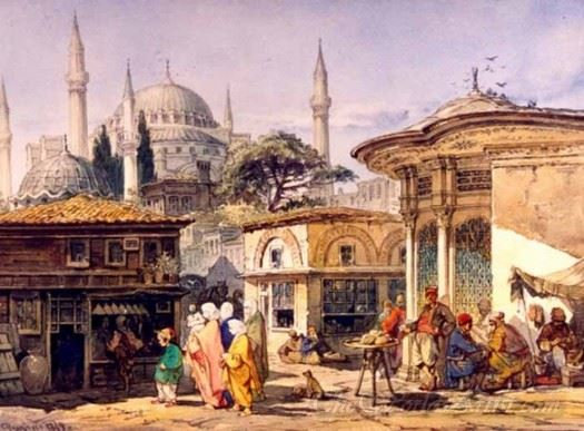 A Street In Constantinople