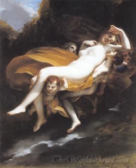Psyché Enlevée Par Les Zéphyrs  (Psyche Kidnapped By The Zephyrs)
