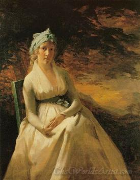 Portrait Of Mrs Andrew