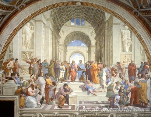 School Of Athens