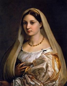 Woman With A Veil La Donna Velata