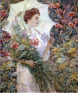 The White Parasol