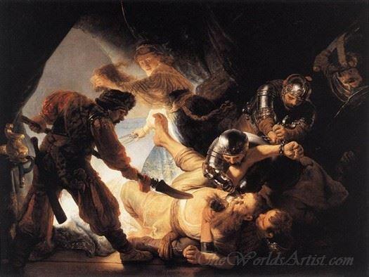 The Blinding Of Samson