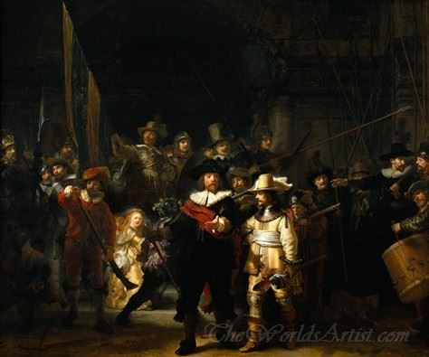 The Night Watch  (The Nightwatch The Militia Company Of Captain Frans Banning Cocqt)