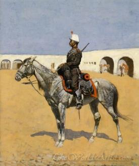Cavalryman Of The Line Mexico
