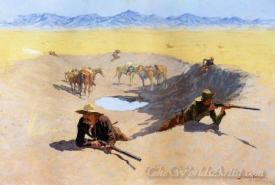 Fight For The Water Hole