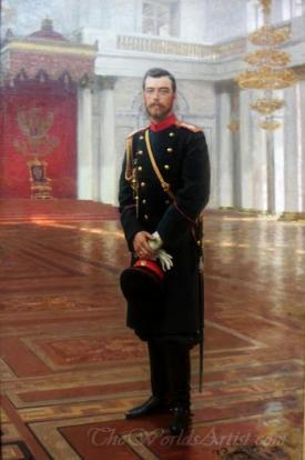 Portrait Of Emperor Nicholas Ii