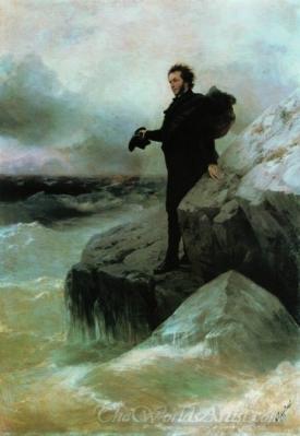 Pushkins Farewell To The Sea