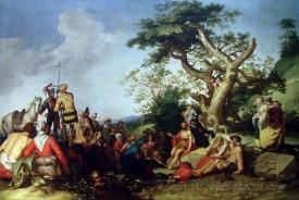 La Predication De Saint Jean Baptiste  (The Preaching Of John The Baptist)
