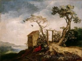 Landscape With The Prophet Elijah In The Desert