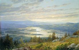 Lake Squam From Red Hill
