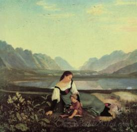 Girls On The Meadow